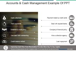 Accounts And Cash Management Example Of Ppt