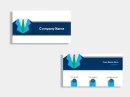 Accounts Manager Business Card Template