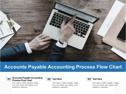 Accounts Payable Accounting Process Flow Chart Ppt Powerpoint Presentation Show Picture Cpb
