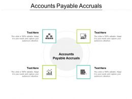 Accounts Payable Accruals Ppt Powerpoint Presentation Infographics Maker Cpb