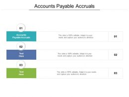 Accounts Payable Accruals Ppt Powerpoint Presentation Summary Demonstration Cpb