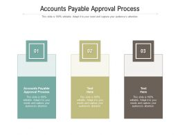 Accounts Payable Approval Process Ppt Powerpoint Presentation Gallery Mockup Cpb