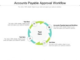 Accounts Payable Approval Workflow Ppt Professional Introduction Cpb
