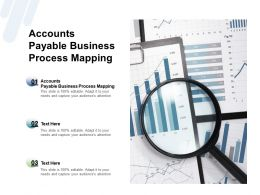 Accounts Payable Business Process Mapping Ppt Powerpoint Presentation Pictures Example Cpb