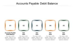 Accounts Payable Debit Balance Ppt Powerpoint Presentation Inspiration Format Ideas Cpb