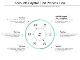 Accounts Payable End Process Flow Ppt Powerpoint Presentation Ideas Example Cpb