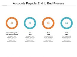 Accounts Payable End To End Process Ppt Presentation Summary Templates Cpb
