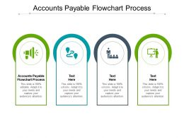 Accounts Payable Flowchart Process Ppt Powerpoint Presentation Demonstration Cpb