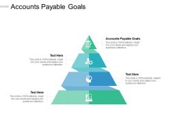 Accounts Payable Goals Ppt Powerpoint Presentation Professional Format Ideas Cpb
