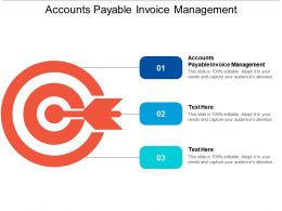 Accounts Payable Invoice Management Ppt Powerpoint Presentation Slides Deck Cpb