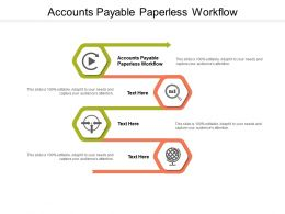 Accounts Payable Paperless Workflow Ppt Powerpoint Presentation Cpb