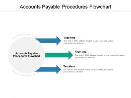 Accounts Payable Procedures Flowchart Ppt Powerpoint Presentation Ideas Objects Cpb