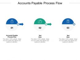 Accounts Payable Process Flow Ppt Powerpoint Presentation Portfolio Summary Cpb