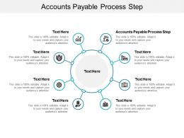 Accounts Payable Process Step Ppt Powerpoint Presentation Outline Graphic Tips Cpb