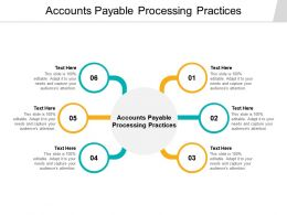 Accounts Payable Processing Practices Ppt Powerpoint Presentation Infographic Cpb