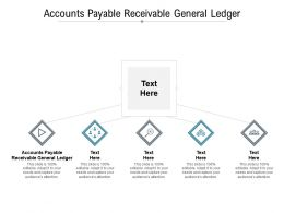Accounts Payable Receivable General Ledger Ppt Powerpoint Presentation Ideas Graphic Tips Cpb
