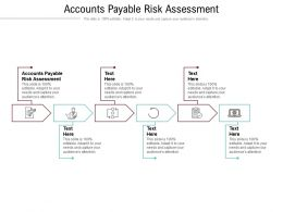 Accounts Payable Risk Assessment Ppt Powerpoint Presentation Professional Ideas Cpb