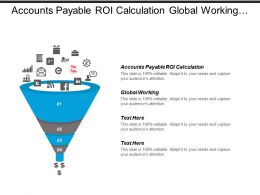Accounts Payable Roi Calculation Global Working Incentives Sales Reps Cpb