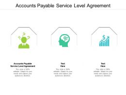 Accounts Payable Service Level Agreement Ppt Powerpoint Presentation Professional Demonstration Cpb