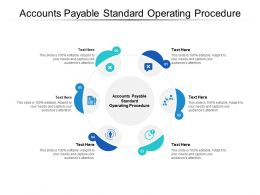 Accounts Payable Standard Operating Procedure Ppt Powerpoint Slides Microsoft Cpb