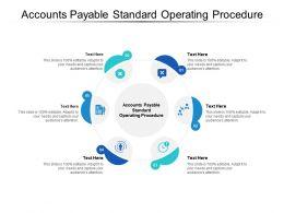 Accounts Payable Standard Operating Procedure Ppt Powerpoint Slides Microsoft Cpb