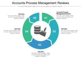Accounts Process Management Reviews Ppt Powerpoint Presentation Professional Structure Cpb