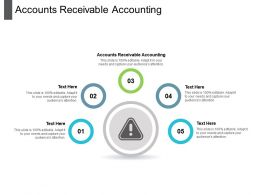 Accounts Receivable Accounting Ppt Powerpoint Presentation File Vector Cpb