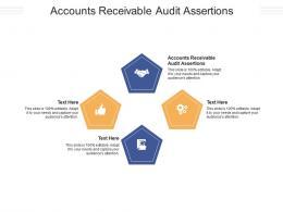 Accounts Receivable Audit Assertions Ppt Powerpoint Presentation Slides Aids Cpb