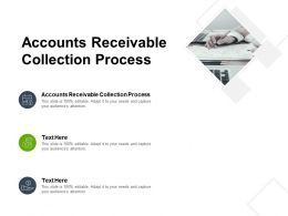 Accounts Receivable Collection Process Ppt Powerpoint Presentation Styles Cpb