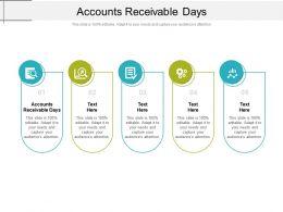 Accounts Receivable Days Ppt Powerpoint Presentation Portfolio Inspiration Cpb