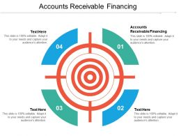 Accounts Receivable Financing Ppt Powerpoint Presentation File Professional Cpb
