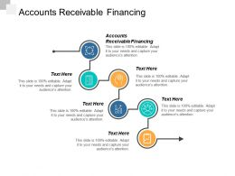 Accounts Receivable Financing Ppt Powerpoint Presentation Gallery Icon Cpb
