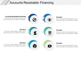 Accounts Receivable Financing Ppt Powerpoint Presentation Icon Design Ideas Cpb