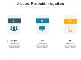 Accounts Receivable Integrations Ppt Powerpoint Presentation Inspiration Template Cpb