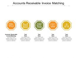 Accounts Receivable Invoice Matching Ppt Powerpoint Presentation Ideas Structure Cpb