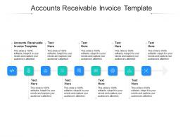 Accounts Receivable Invoice Template Ppt Powerpoint Presentation Show Graphics Cpb
