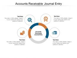 Accounts Receivable Journal Entry Ppt Powerpoint Presentation Model Show Cpb
