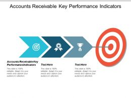 Accounts Receivable Key Performance Indicators Ppt Powerpoint Presentation Icon Design Inspiration Cpb
