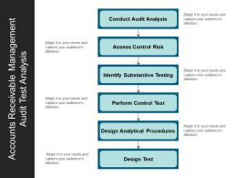Accounts Receivable Management Audit Test Analysis
