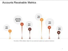 Accounts Receivable Metrics Ppt Powerpoint Presentation Diagram Images Cpb