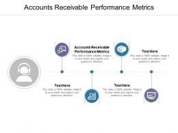 Accounts Receivable Performance Metrics Ppt Powerpoint Presentation Gallery Designs Download Cpb