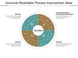Accounts Receivable Process Improvement Ideas Ppt Powerpoint Presentation File Example Topics Cpb