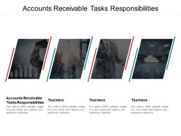 Accounts Receivable Tasks Responsibilities Ppt Powerpoint Presentation Styles Icons Cpb
