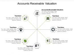 Accounts Receivable Valuation Ppt Powerpoint Presentation Infographic Cpb