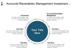 Accounts Receivables Management Investment Management Project Management Content Development Cpb
