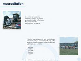 Accreditation Management Ppt Powerpoint Presentation Show Slide Portrait