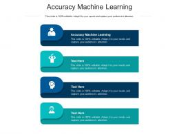 Accuracy Machine Learning Ppt Powerpoint Presentation Pictures Designs Cpb
