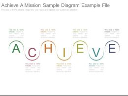 Achieve A Mission Sample Diagram Example File