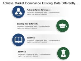 Achieve Market Dominance Existing Data Differently Departmental Visibility