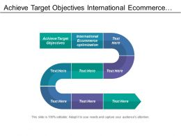 Achieve Target Objectives International Ecommerce Optimization Operating Model Development